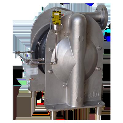 Metal Barrier Diaphragm Pump