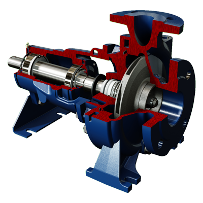Centrifugal Water Pump - Salvatore Robuschi