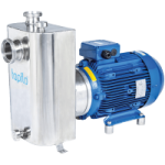 Hygienic self priming centrifugal pump