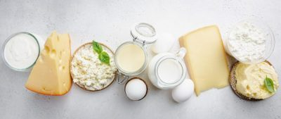 Dairy products header