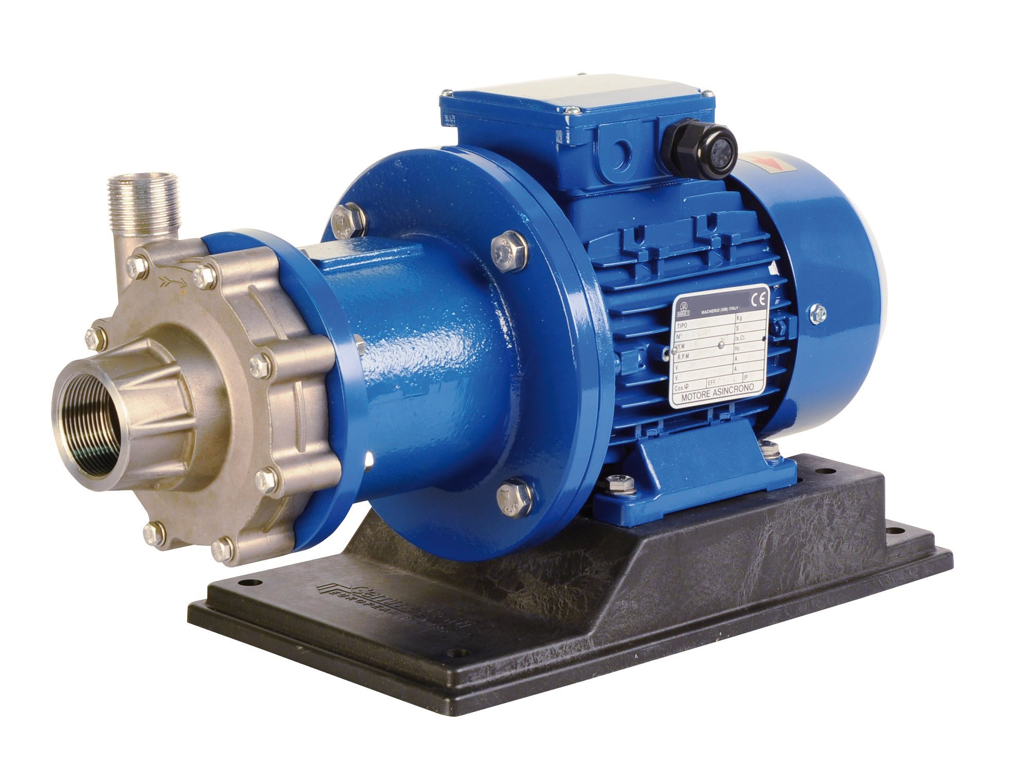 Gemme Cotti Magnetically Driven Centrifugal Pump