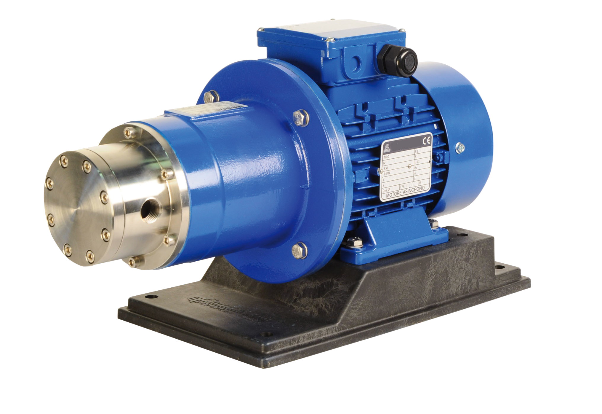Magnetically Driven Rotary Vane Pump