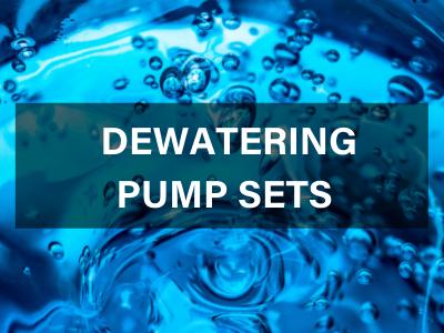 dewatering pump sets