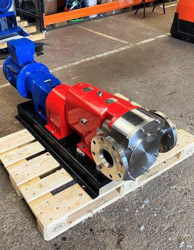 on site pump repair example
